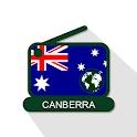 Canberra 📻 AM FM Online Radio Stations icon