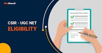 CSIR UGC NET Eligibility 2020
