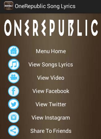 Counting Stars OneRepublic