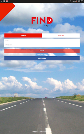 MOBISAT FIND app (apk) free download for Android/PC/Windows screenshot