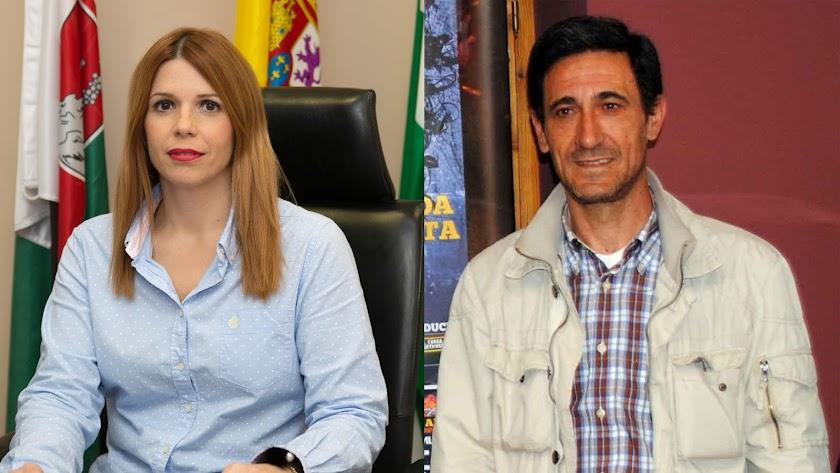 Angeles Castillo, alcaldesa y candidata del PSOE, llevará de dos a Juan Ibáñez, independiente