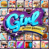 GGY Girl Offline Games icon