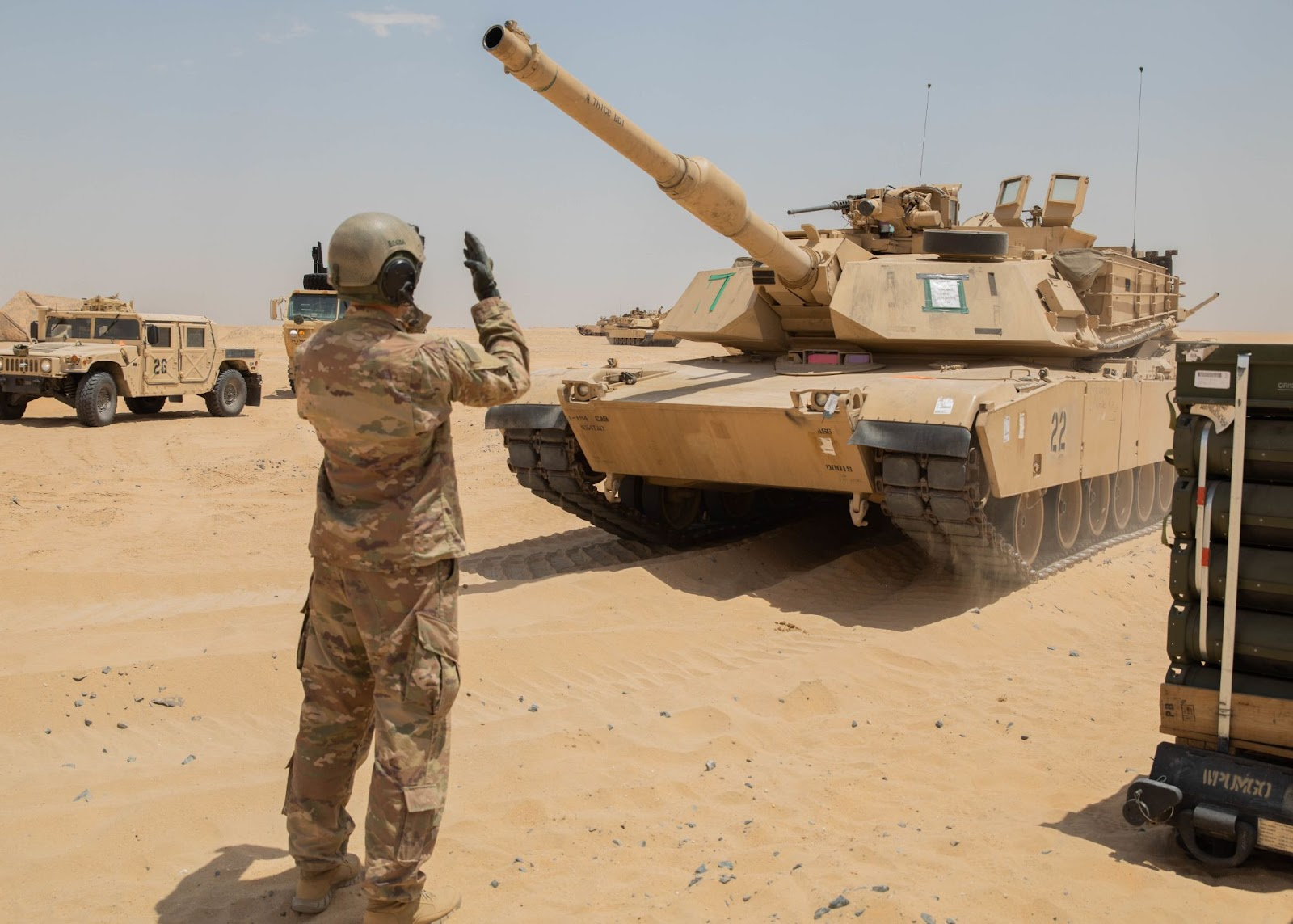 We salute the Army crew who named their tank 'A Thicc Boi'