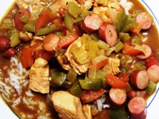 Chicken & Andouille Gumbo Recipe