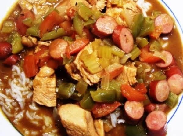Cajun Chicken And Andouille Gumbo