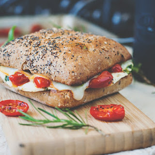 Mediterranean Egg White Breakfast Sandwich