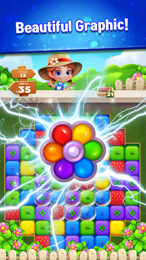 Sweet Garden Blast Game apkmr screenshots 5