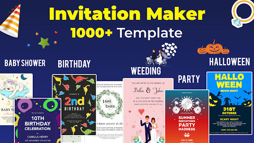 Invitation Maker Free - Birthday & Wedding Card Apk 1
