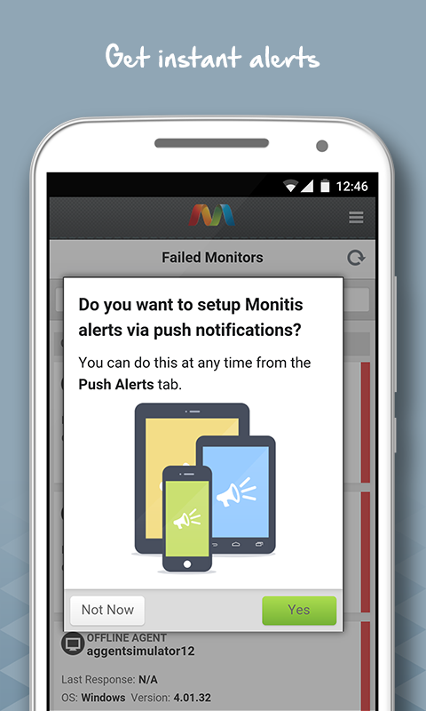 Monitis – Web & IT Monitoring- screenshot