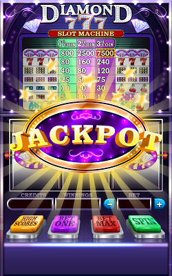 Diamond 777 Slot Machine - screenshot