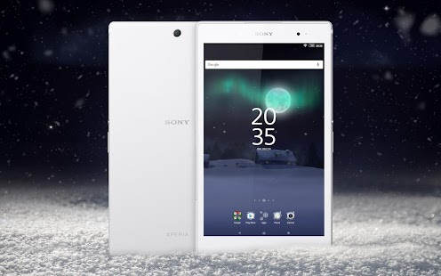 XPERIA™ Magical Winter Theme- screenshot thumbnail