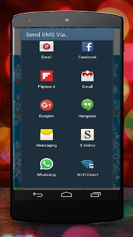 android Christmas SMS for Whatsapp Screenshot 2
