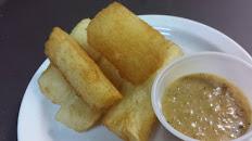 Fried yuca / Yuca frita