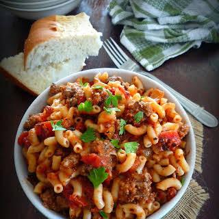 American Goulash – American Chop Soy.