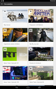 RT News (Russia Today)- screenshot thumbnail