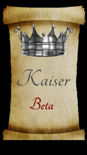 Kaiser  captures d'u00e9cran 1