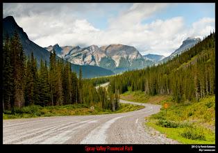 Photo: Spray Valley Provincial Park.