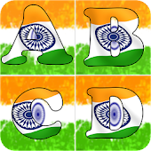 Indian Flag Letter Alphabets
