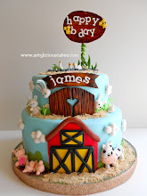 Photo: Farm birthday cake by Artylicious Cakes (7/2/2012) View cake details here: http://cakesdecor.com/cakes/20317