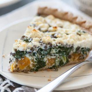 Lentil, Butternut Squash and Collards Pie