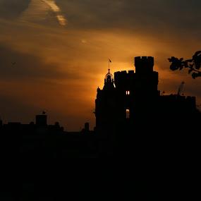 Scotland At Sunset by VAM Photography - Landscapes Sunsets & Sunrises ( scotland, edinburgh, sunset, architecture, travel, landscape,  )