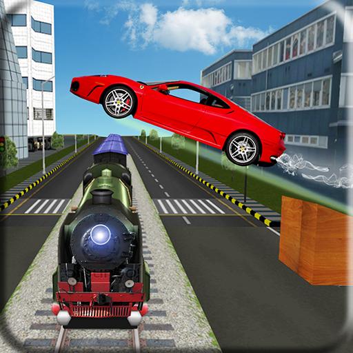 Crazy Car Stunt Master 3D Simulation 2017