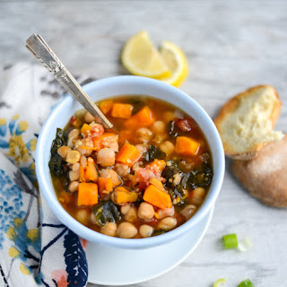 10-Ingredient Slow Cooker Vegetable and Quinoa Stew.