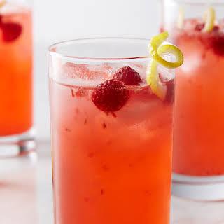 Fresh Raspberry Vodka Lemonade.