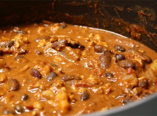 Indian Style Chili Recipe