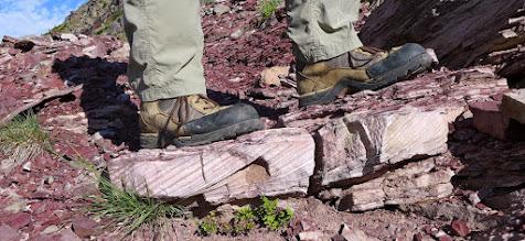 Photo: Cool rocks along trail.