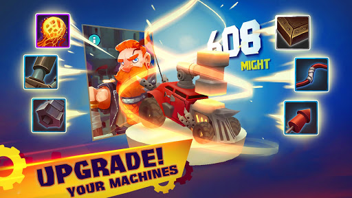 Mighty Machines – Vehicular Combat RPG poster