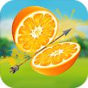 Fruit Cut 3D - 3D Archery Shooting Game icon