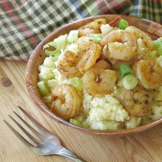 Cauliflower Grits and Shrimp Recipe