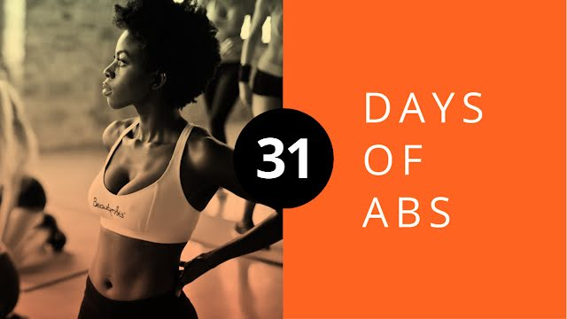 31 Days of Abs - YouTube Thumbnail Template