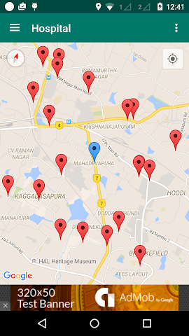 android Around Me - Places (Search) Screenshot 3