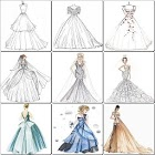 Best 100 Dress Design Sketches icon