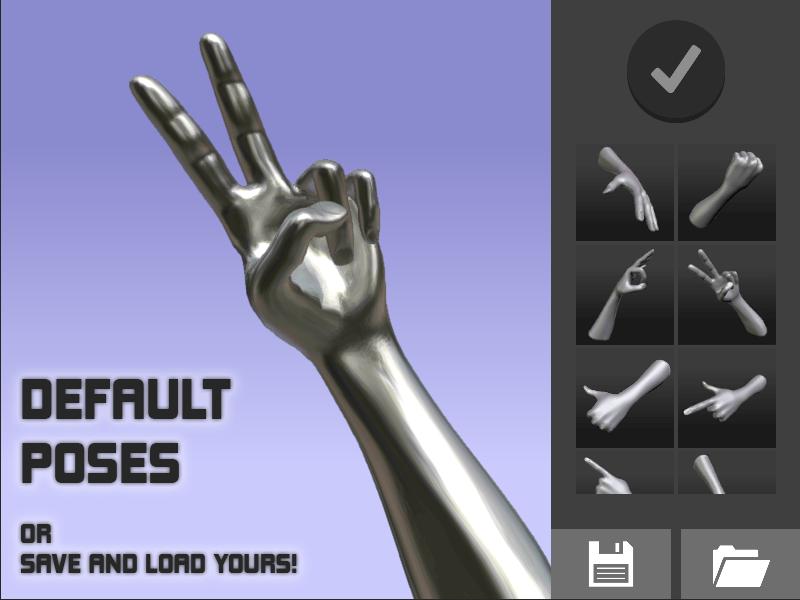 Hand Draw 3D Pose Tool FREE