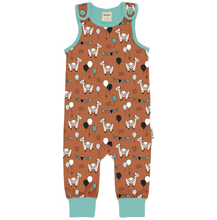 Maxomorra Playsuit Camel Party