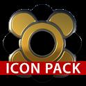 black CAPONE gold HD Icon Pack icon