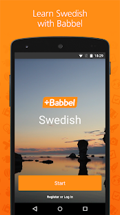Learn Swedish with Babbel - náhled