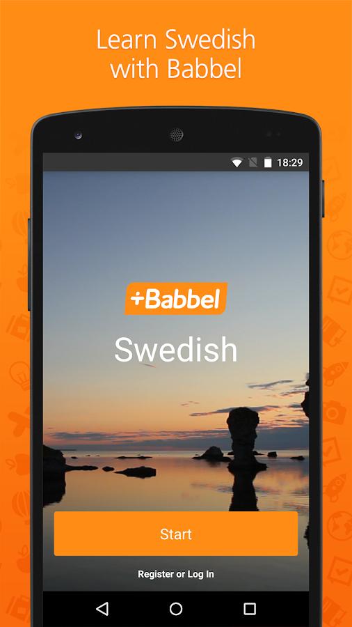 How do swedish people learn english?