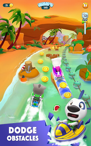 Talking Tom Jetski 2 game (apk) free download for Android/PC/Windows screenshot