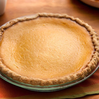 Pumpkin Pie with Spiced Crust