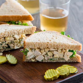 Chicken and Corn Salad Sandwich