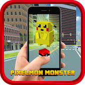 Pocket Pixelmon Monster Go!