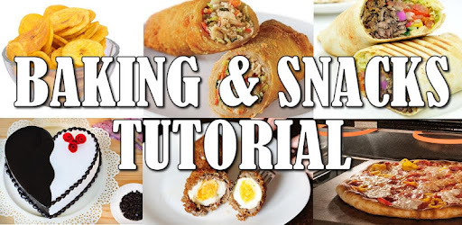 Step by step tutorials and videos on how to bake your snacks