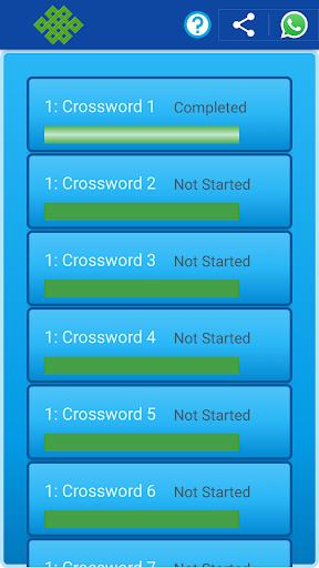 Kids Crossword puzzles : Kids Crosswords 1.00 Mod screenshots 2