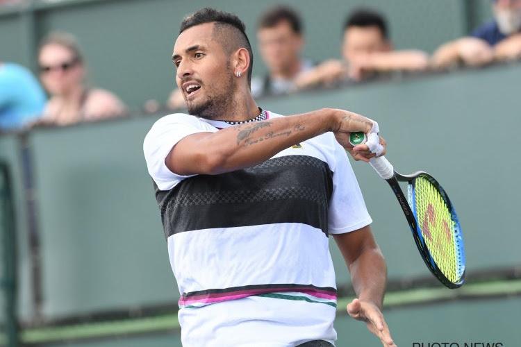 ATP Rome : Kyrgios se fait encore remarquer, il quitte le cours et abandonne
