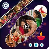 Happy Diwali Movie Maker : Slideshow Maker