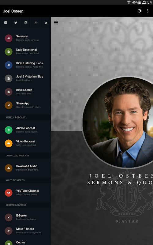 Joel Osteen's Sermons & Quotes APK Latest Version Download